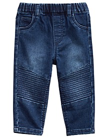 Baby Boys Moto Jeans, Created for Macy's