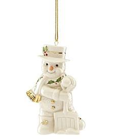 2019 Shoveling Snowman Ornament