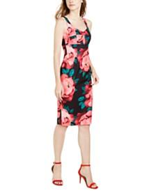 Trina Trina Turk Sweetheart Floral-Print Midi Dress