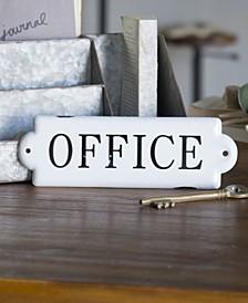 "VIP Home International Metal ""Office"" Sign"