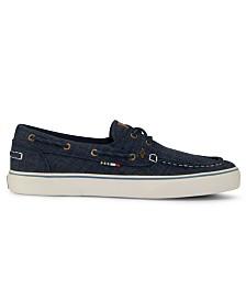 Guy Harvey Men's Gulf Linen Boat Shoe