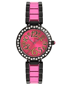 Pink Dial & Two Tone Bracelet Watch 32.5mm