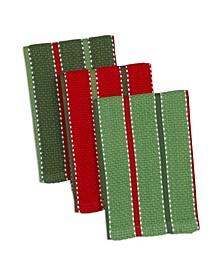 Sprig Stripe Heavyweight Dishcloth Set