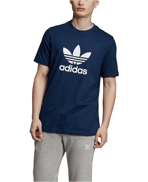 Adidas trefoil t shirt
