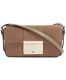 DKNY Adam Demi Leather Crossbody, Created for Macy's
