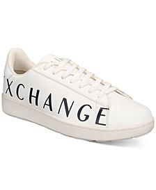 Armani Exchange Men's Logo Trainer Sneakers