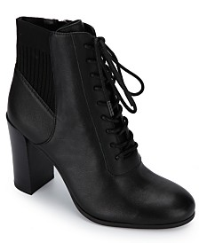 Kenneth Cole New York Women's Justin Lace Up Booties