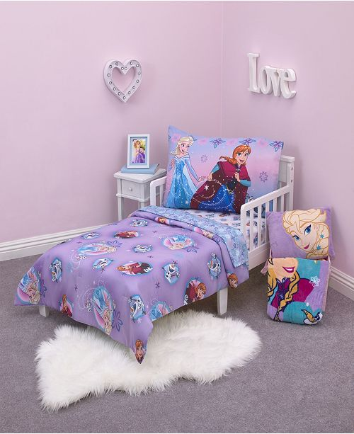 competitive price 97f0b e45ca Frozen 4-Piece Toddler Bedding Set