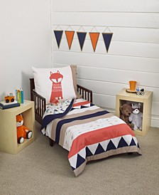 Southwest Print 4-Piece Toddler Bedding Set