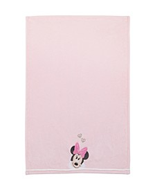 Minnie Mouse Love to Love Blanket with Applique