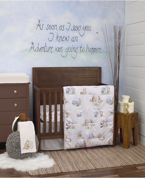 Disney Winnie The Pooh Nursery Collection Amp Reviews Bedding Collections Bed Amp Bath Macy S