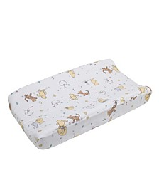 Classic Winnie the Pooh Quilted Changing Pad Cover