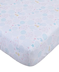 Little Mermaid Fitted Crib Sheet