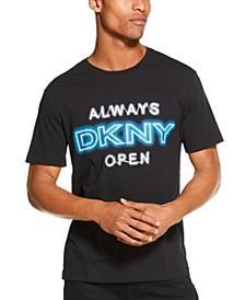 Men's Always Open Logo Graphic T-Shirt