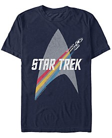 Star Trek Men's The Original Series Retro Prism Enterprise Short Sleeve T-Shirt