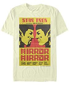 Men's The Original Series Spock Mirrored Image Short Sleeve T-Shirt