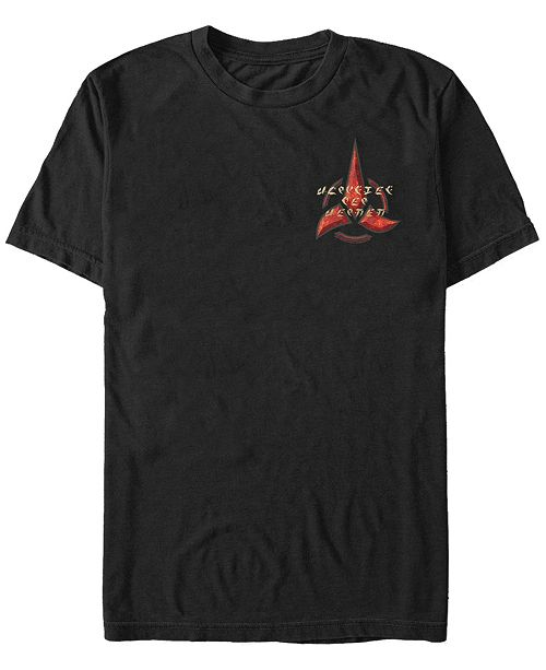 Star Trek Men's Discovery Klingon Emblem Short Sleeve T-Shirt