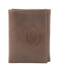 Embossed Trifold Men's Wallet