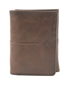 RFID Trifold Leather Wallet