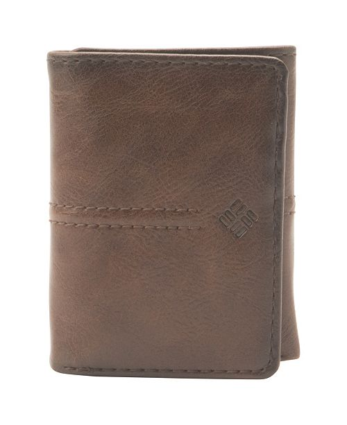 Columbia RFID Trifold Leather Wallet