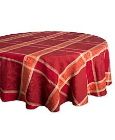 Design Imports Harvest Wheat Jacquard Tablecloth