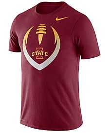 Men's Iowa State Cyclones Dri-Fit Cotton Icon T-Shirt