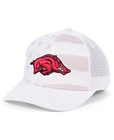 Top of the World Arkansas Razorbacks Sub Flag Trucker Cap
