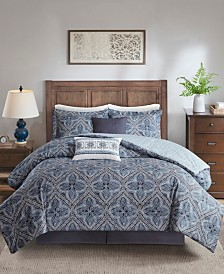 Harbor House Nulki California King 6 Piece Cotton Comforter Set