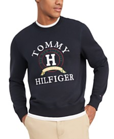 Tommy Hilfiger Men's Big & Tall Back Bay Logo Sweatshirt