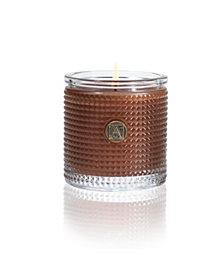 Aromatique Harvest Cinnamon Cider Textured Cylinder Candle