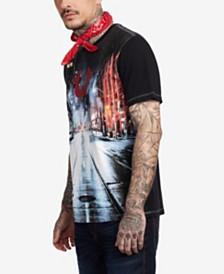 True Religion Men's Nightscape T-Shirt