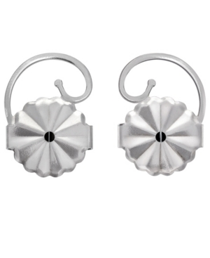 4 Pairs Earring Back Set in Stainless Steel