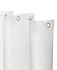 Heavyweight Mildew-Resistant Shower Curtain Liner