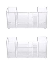 Kenney Bathroom Countertop Organizer, 8 Compartments, Set of 2