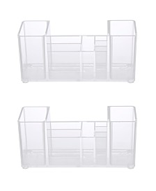 Kenney Bathroom Countertop Organizer, 8 Compartments, Set of 2