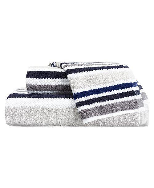 Nautica Jules Grey 3-Pc. Towel Set