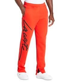 Lacoste Men's L!VE New Script Logo Fleece Pants
