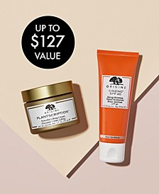 Get More! Choose a Free Full Size Moisturizer with any $85 Purchase (Up to a $127 Value)