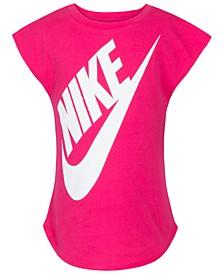 Little Girls Logo-Print T-Shirt