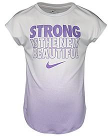 Toddler Girls Strong-Print T-Shirt
