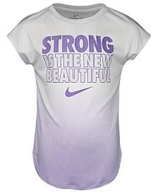 Nike Little Girls Ombré Dri-FIT T-Shirt
