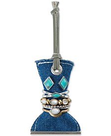 Lucky Brand Silver-Tone & Gold-Tone Imitation Turquoise Earring and Ring Set