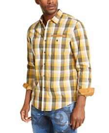 Sean John Men's Mini Check Shirt
