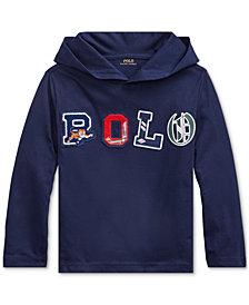 Polo Ralph Lauren Big Boys Hooded Jersey Shirt