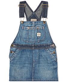 Polo Ralph Lauren Little Girls Denim Overall Dress