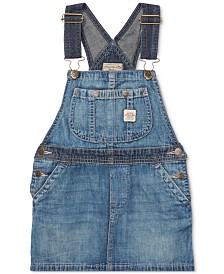Polo Ralph Lauren Toddler Girls Denim Overall Dress