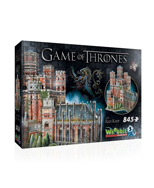 Wrebbit the Red Keep 3D Puzzle