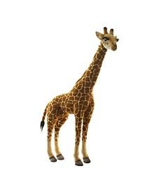 """Hansa Medium Size 34"""" Giraffe Plush Toy"""