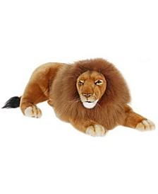 Laying Lion Plush Toy