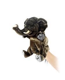 Hansa Elephant Hand Puppet Plush Toy